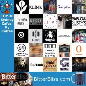 BitterBliss TOP30 Sydney Cafes